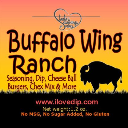 Buffalo Wing Ranch Dip or Buffalo Wing Ranch Seasoning
