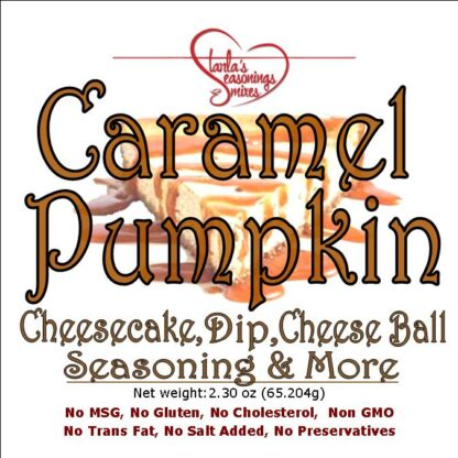 Caramel Pumpkin Cheesecake or Caramel Pumpkin Fruit Dip Mix