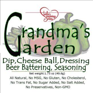 Grandma's Garden Seasoning Mix or Grandma's Garden Dip Mix