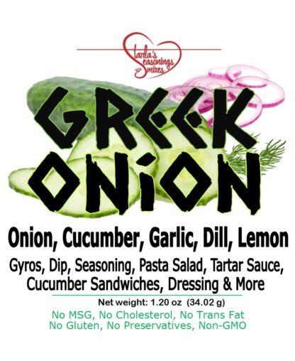 Greek Onion Seasoning Mix or Greek Onion Dip Mix