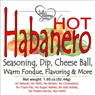 Habanero Seasoning Mix, Habanero Dip Mix