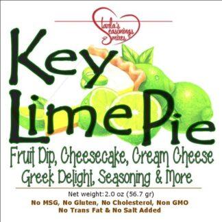 Key Lime Pie Cheesecake or Key Lime Pie Fruit Dip Mix