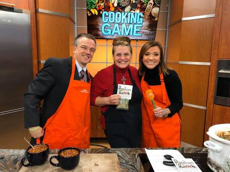 Peppercorn Ranch Venison Chili on the Fox 6 Real Milwaukee