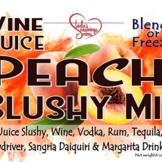 Peach Slushy Mix for Wine Slushy or Juice Slushy
