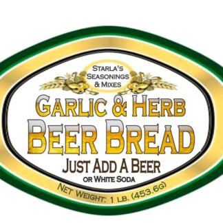 Garlic & Herb Beer Bread