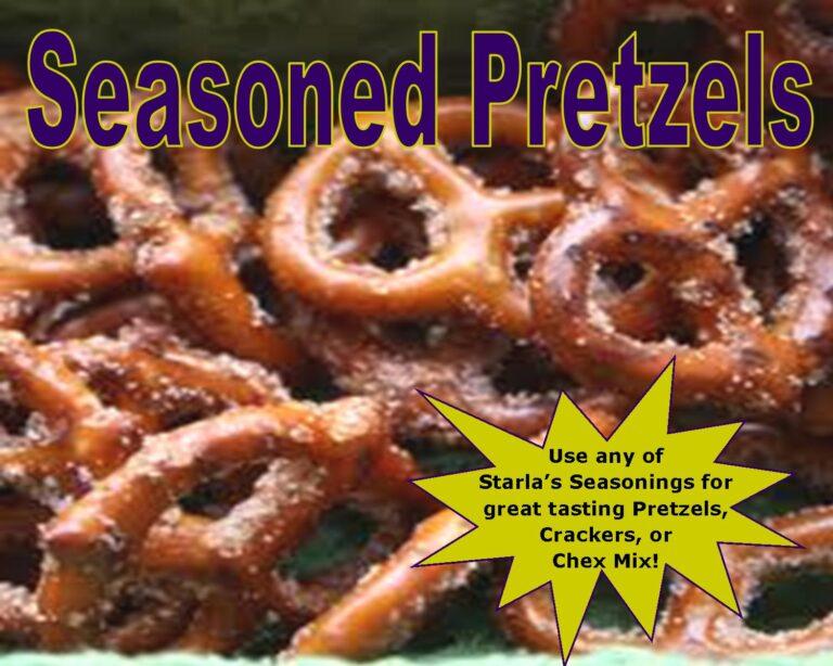 Easy Seasoned Pretzels